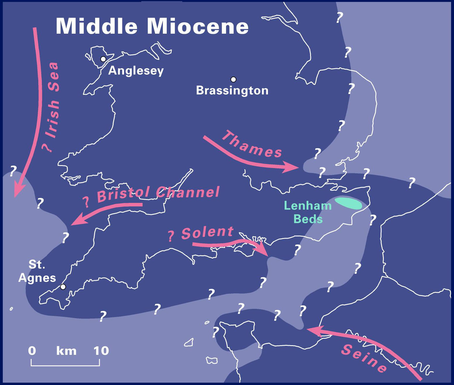 Miocene World Map.Quaternary Palaeoenvironments Group Qpg History Of The Major